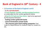 bank of england in 18 th century 4