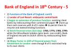 bank of england in 18 th century 5