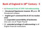 bank of england in 18 th century 51