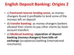 english deposit banking origins 2