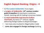 english deposit banking origins 4