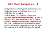 joint stock companies 3