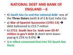 national debt and bank of england 6