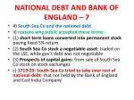 national debt and bank of england 7