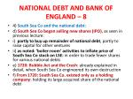 national debt and bank of england 8
