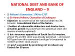 national debt and bank of england 9