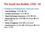 the south sea bubble 1720 10