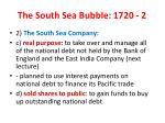 the south sea bubble 1720 2