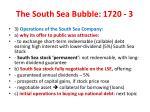 the south sea bubble 1720 3