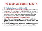 the south sea bubble 1720 4