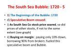 the south sea bubble 1720 5