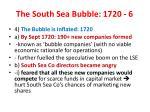 the south sea bubble 1720 6