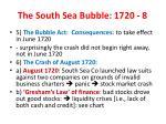 the south sea bubble 1720 8