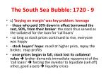 the south sea bubble 1720 9