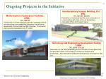 ongoing projects in the initiative