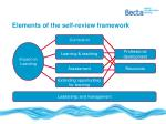 elements of the self review framework