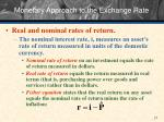 monetary approach to the exchange rate4