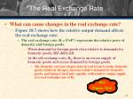 the real exchange rate1