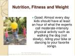 nutrition fitness and weight5