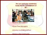 are you and your student s ready for the commitment of ib