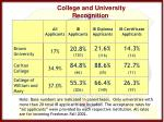college and university recognition2