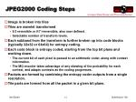 jpeg2000 coding steps
