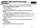 seakr s rcc board processing solutions