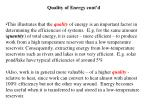 quality of energy cont d