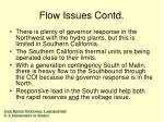 flow issues contd