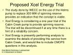 proposed xcel energy trial