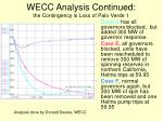 wecc analysis continued the contingency is loss of palo verde 1