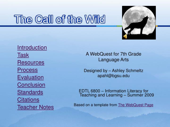 PPT - Into the Wild PowerPoint Presentation - ID:2620573 |Into The Wild Powerpoint