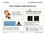 more similar software service