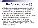 the dynamic model ii