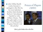 prince of players 1955
