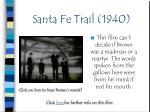 santa fe trail 19402