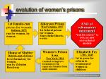 evolution of women s prisons