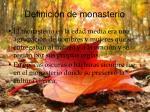 definici n de monasterio