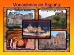 monasterios en espa a
