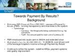 towards payment by results background