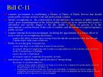 bill c 11