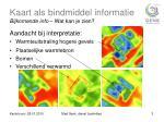 kaart als bindmiddel informatie bijkomende info wat kan je zien2