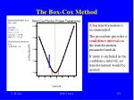 the box cox method