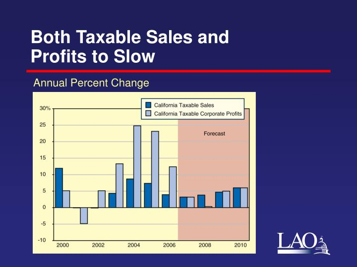 Both Taxable Sales and