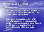 the costs of diabetes1