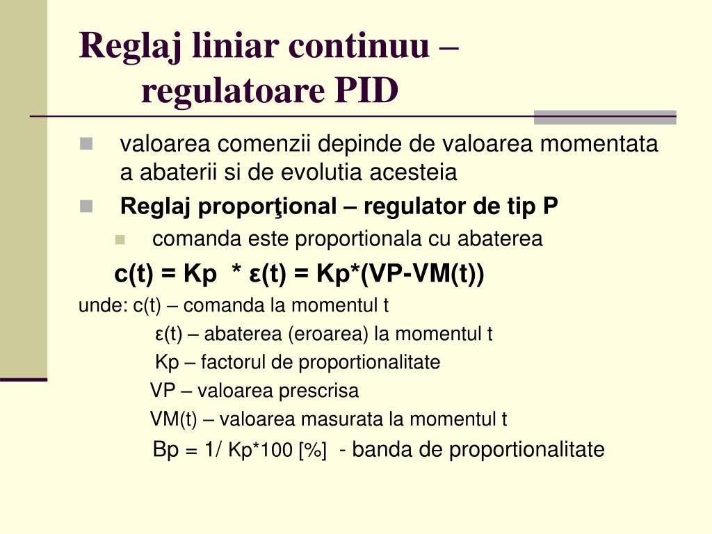 PPT - Informatica industriala PowerPoint Presentation - ID