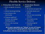 flexible service delivery1