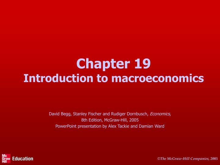chapter 19 introduction to macroeconomics n.