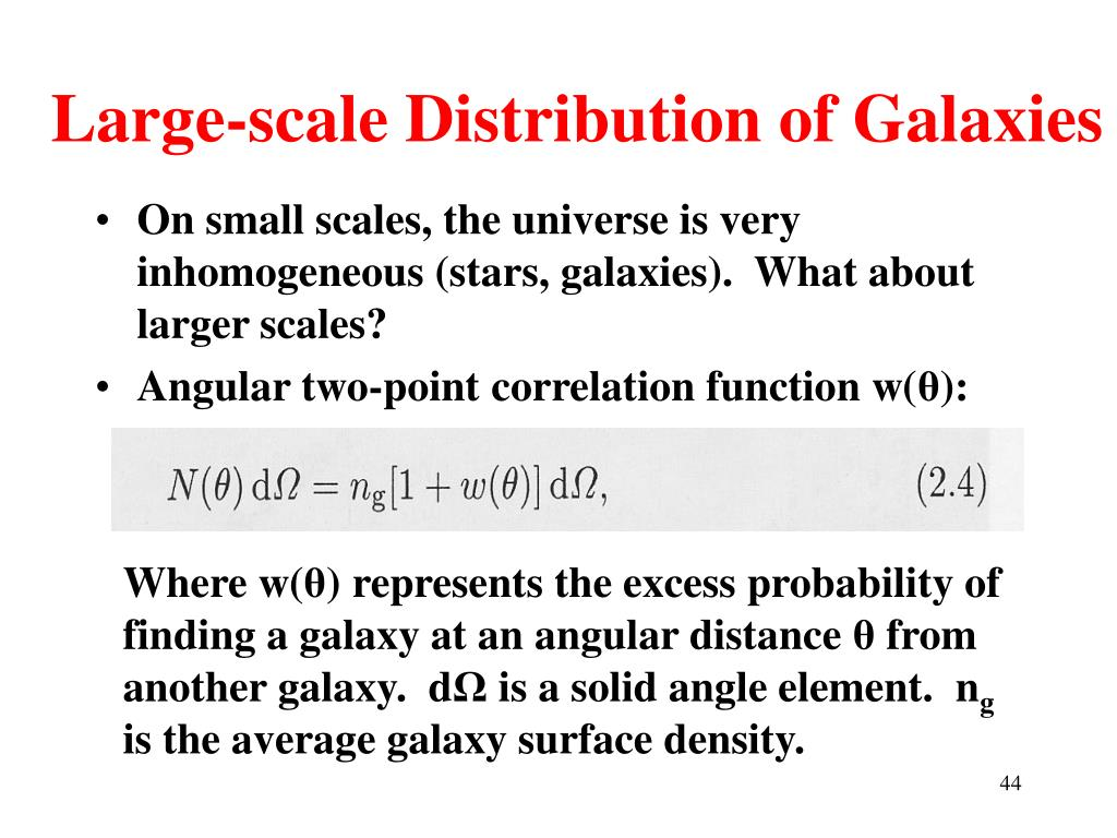 PPT - Galaxy Clusters and Large Scale Structure PowerPoint