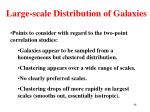 large scale distribution of galaxies5